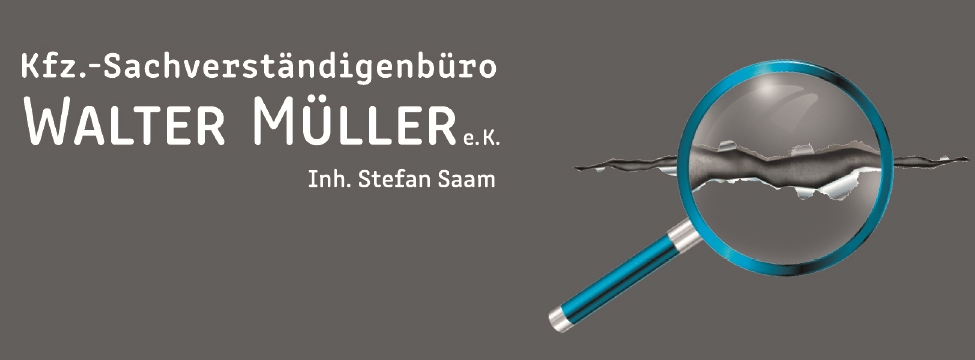 KFZ Sachverständigenbüro Walter Müller e.K. Inh. Stefan Saam